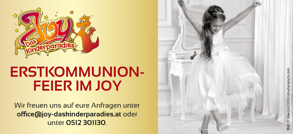 Joy Header Erstkommunion header