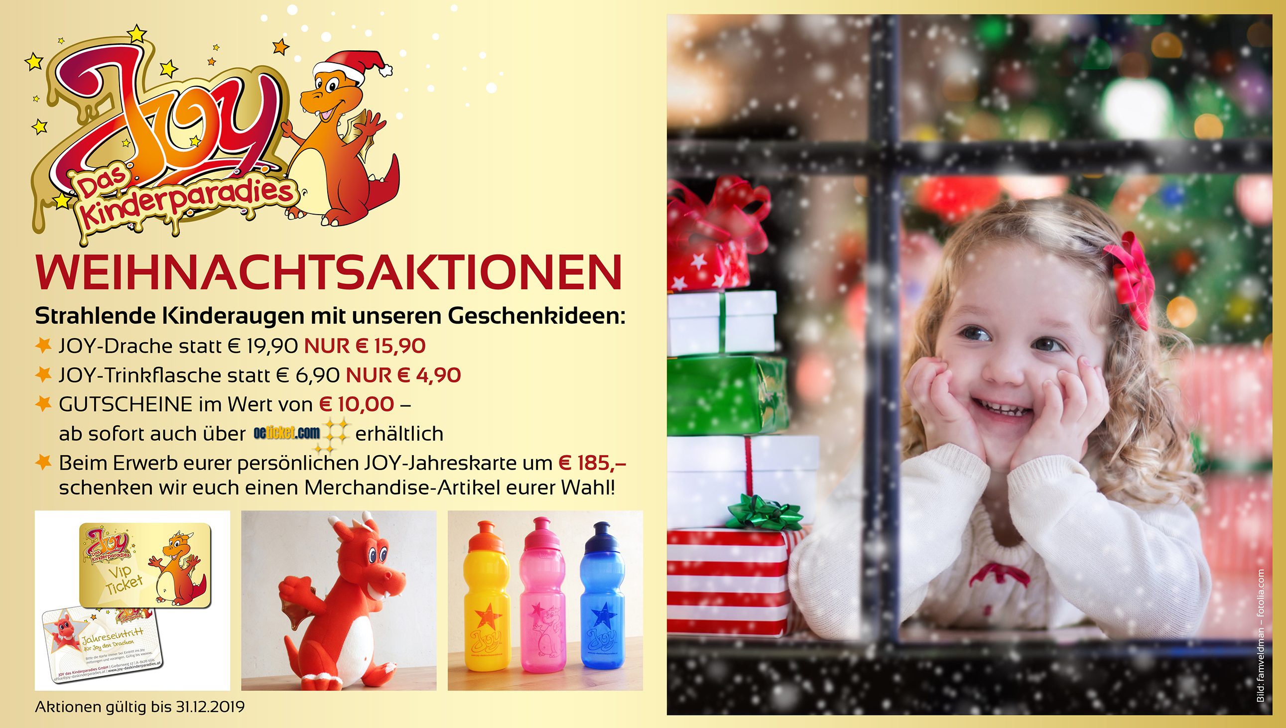 Joy Screen Weihnachtsaktion 2019